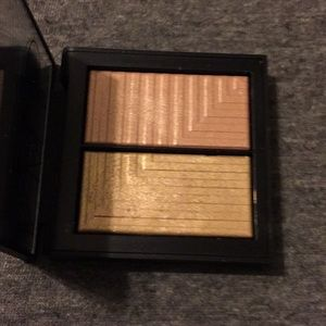 NARS cosmetics highlighter Jubilation shimmery